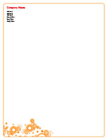 Shapes9 Letterhead
